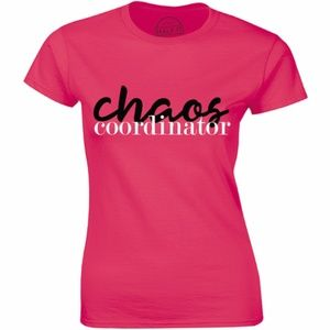 Chaos Coordinator Mom Mother Parent Kids T-shirt